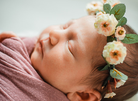 Baby Audrey | Tomball Texas | Newborn photos