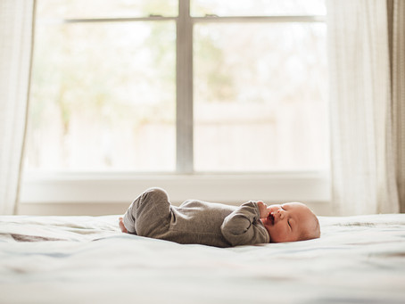 Taking your own newborn photos-- tips for doing it at home