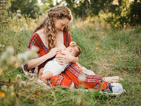 Christy | Nursing session | Houston outdoors