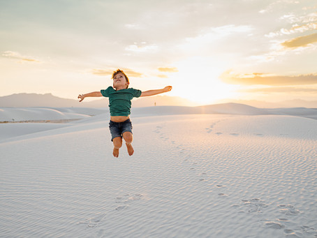 White Sands | Harper family trip | Lifestyle