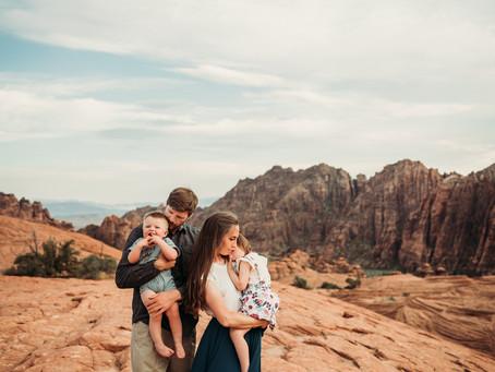 Harper Family | St. George, Utah | Travel session
