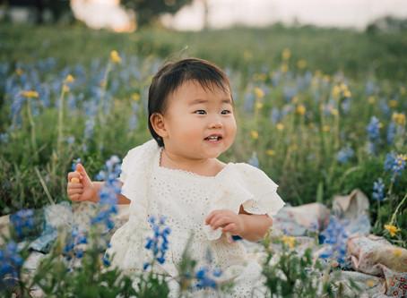 Gong Family | Bluebonnet mini | Houston, Texas