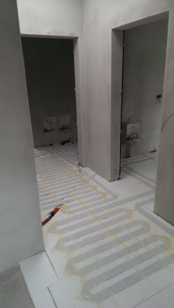 bathroom, corridor