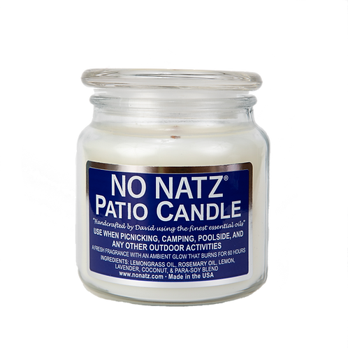 No Natz Patio Candle