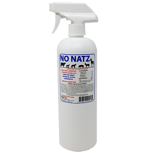 No Natz 32oz Quart Bottle for Livestock & Pets