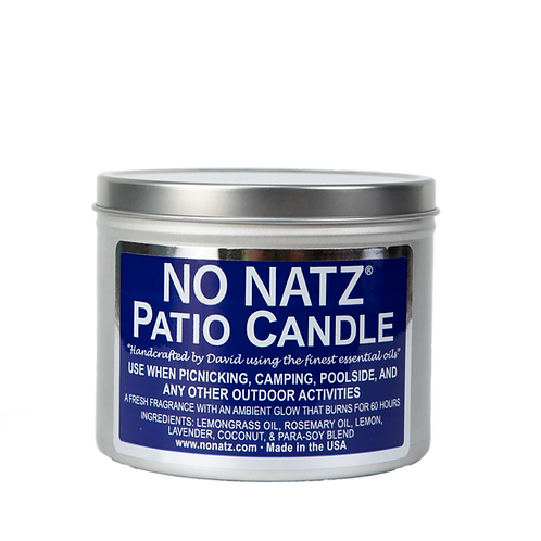 No Natz Tin Candle