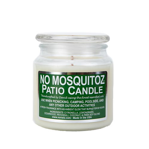 No Mosquitoz Patio Candle