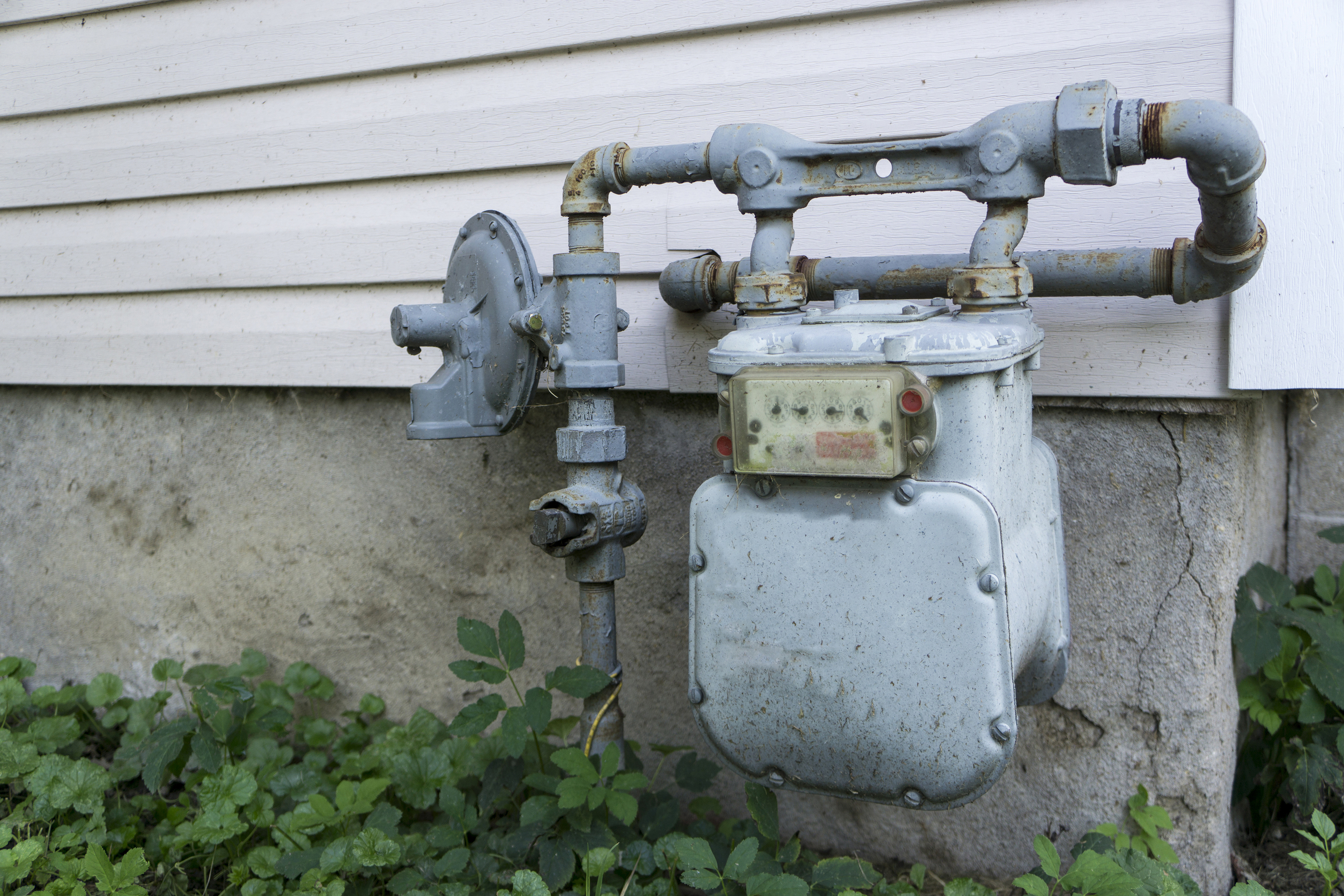 Residential Home Gas Meter