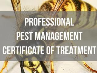 Pest Control Forms