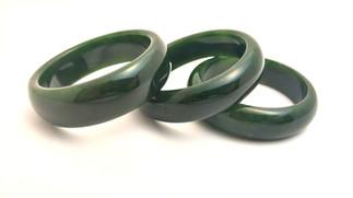 Jade Bangles modern to classic