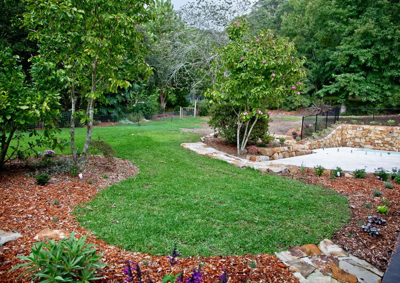 Garden Adjoining Pool