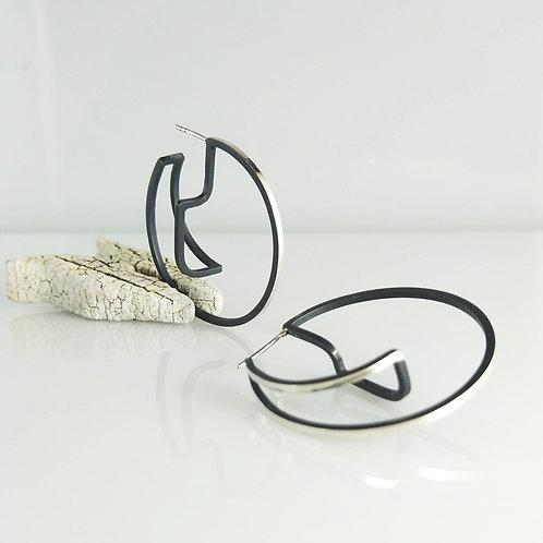 Continuum Hoop Earrings