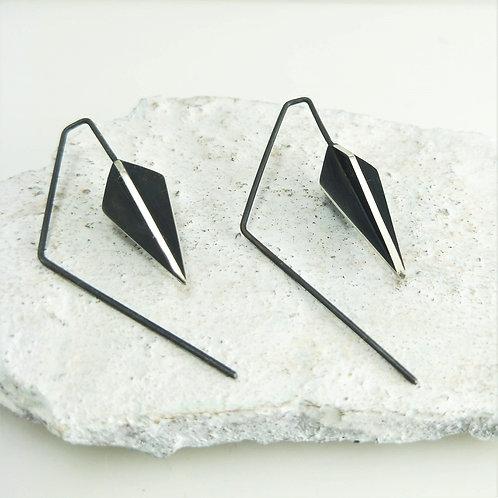 Short Kite X-series Hook Earrings