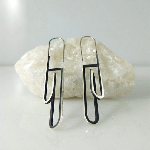 CONTINUUM Earrings – Arched hook