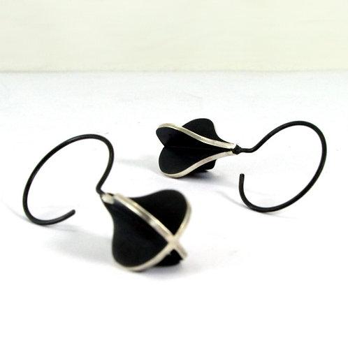 Pear Long Hook X-series Earrings