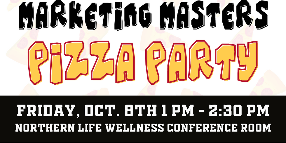 Marketing Masters Pizza Party