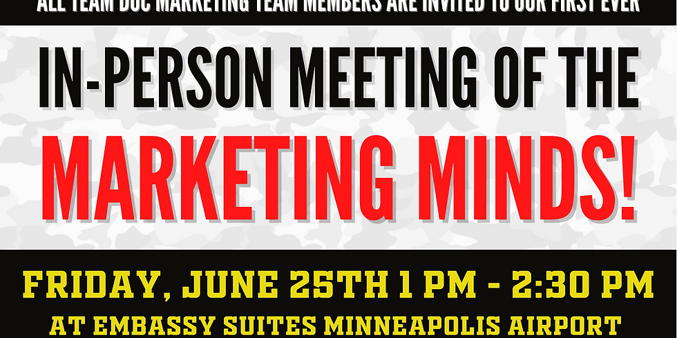 Marketing Masters Meeting of the Minds