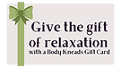 Body Kneads Christmas Gift Card Button 2