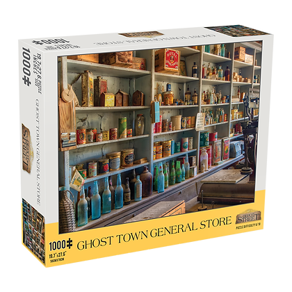 Ghost Town General Store 1000 Piece Jigsaw Puzzle