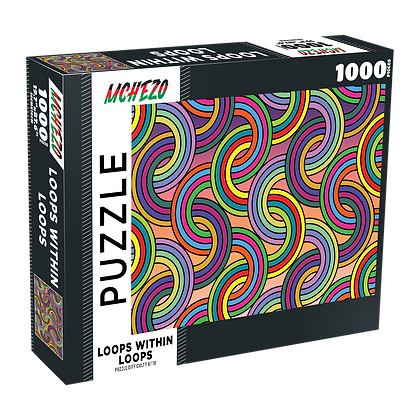Loops Within Loops 1000 Piece Jigsaw Puzzle