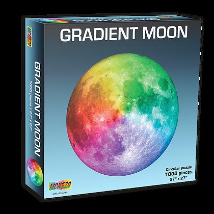Gradient Moon 1000 Piece Puzzle