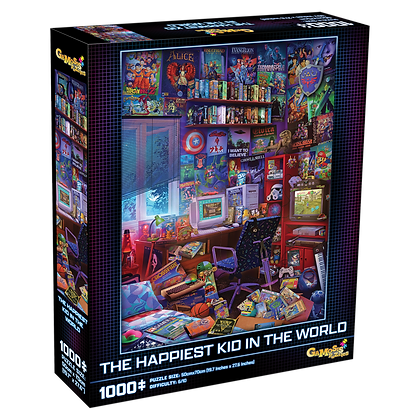 The Happiest Kid in the World 1000 Piece Jigsaw Puzzle