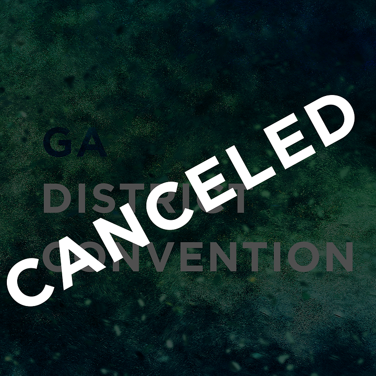 Georgia District Convention (Canceled)