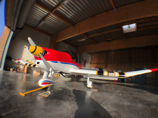 F-GDYG au hangar