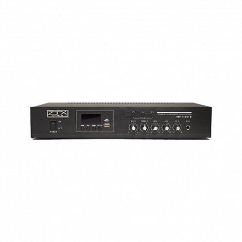 ZTX audio MP3-80 трансформаторный трансляционный усилитель
