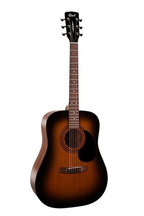 Cort AD810-SSB Standard Series Акустическая гитара, санберст