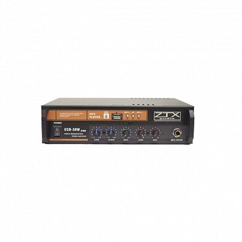 ZTX audio USB-50W трансформаторный трансляционный усилитель мощности 50W