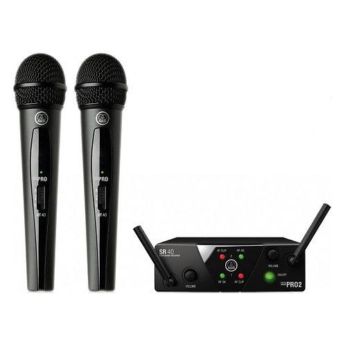 AKG WMS40 Mini2 Vocal Set BD US45A