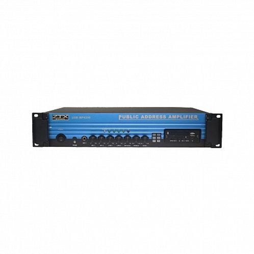 ZTX audio USB-MP6250 трансформаторный трансляционный усилитель мощности 250W