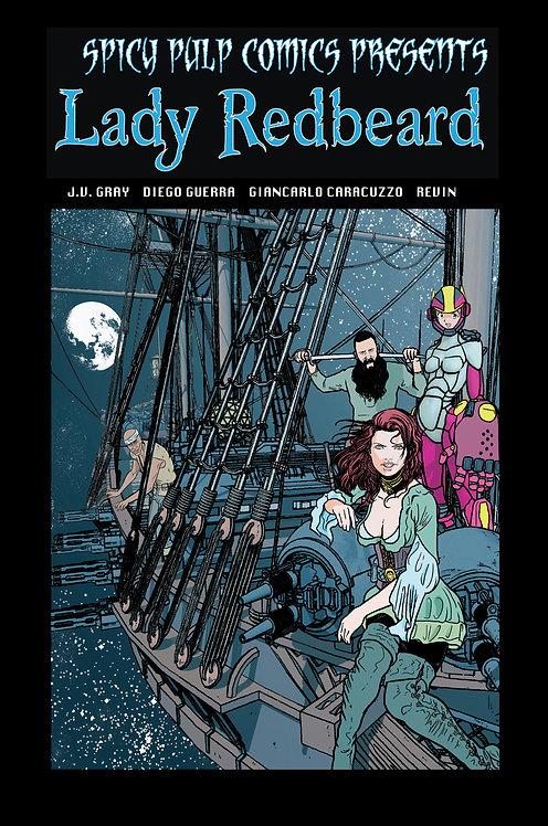 Spicy Pulp Comics #2 Featuring Lady Redbeard