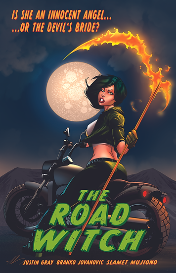 Spicy Pulp Comics #3 Feat. The Road Witch