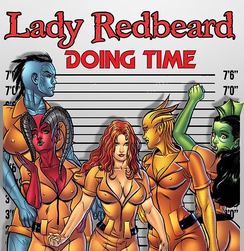 Spicy Pulp #5 Featuring Lady Redbeard