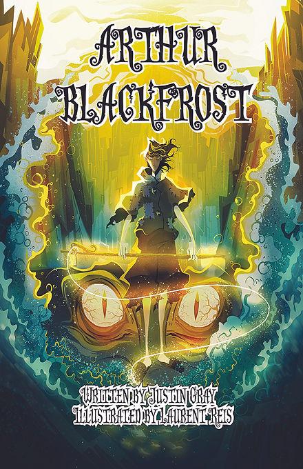 Arthur Blackfrost cover by Laurent Reis.