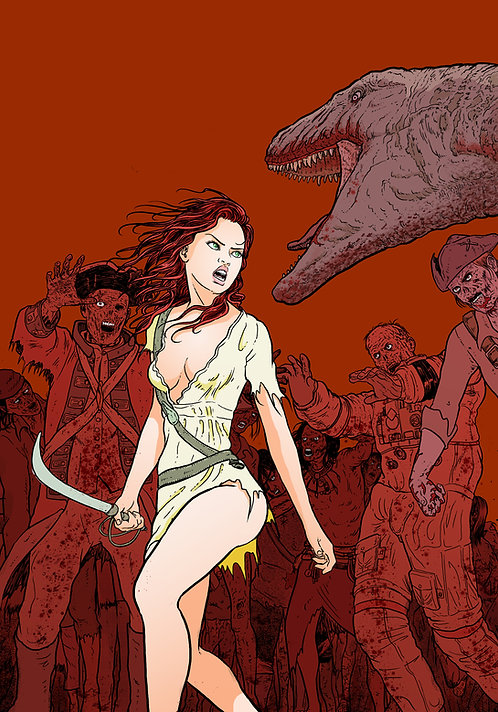 Spicy Pulp Comics #1 Featuring Lady Redbeard