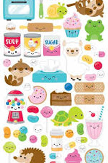 Doodlebug - So much Pun Stickers