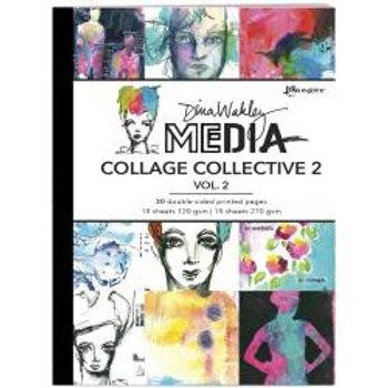 DINA WAKLEY MEDIA collage Collective2 Vol 1