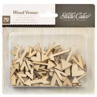 Studio Calico Heart Wood Veneer