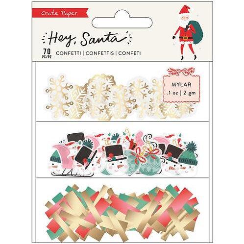 Crate Paper – Hey Santa – Confetti Pack