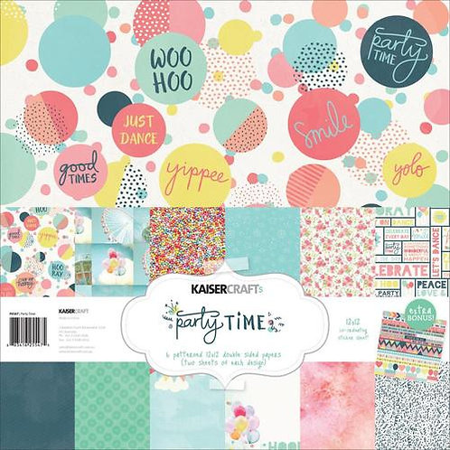 Kaisercraft Party Time 12x12 Paper Collection