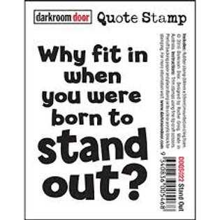 Darkroom Door - Stand Out Stamp