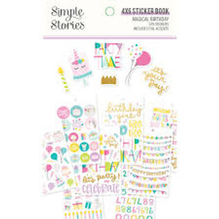 Simple Stories - Magical Birthday Sticker Book