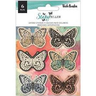 Vicki Boutin – Storyteller – Layered Butterfies