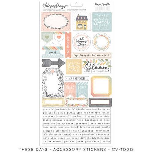 Cocoa Vanilla Studios *PRE-ORDER* THESE DAYS – Accessory Stickers