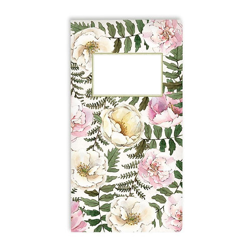 """P13 Forest Tea Party Travel Journal 4.25""""X8.25"""""""