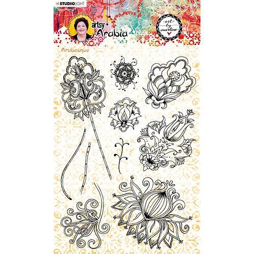 Art By Marlene stamp - NR. 57, Artsy Arabia