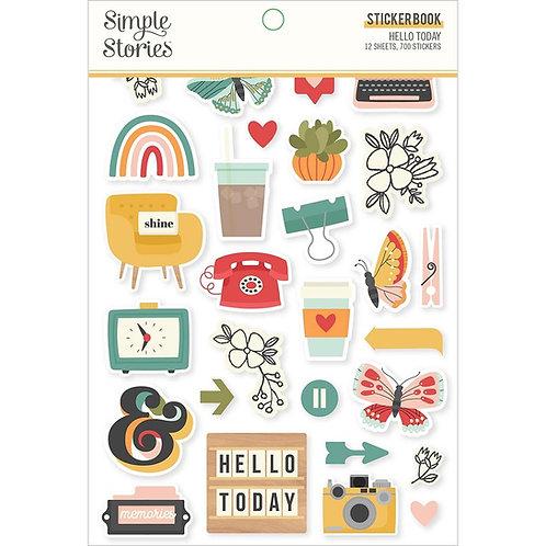 Hello Today Sticker Book
